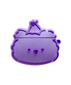 Cute Purple Bear   Pink Cloud Premium AirPods Pro Case Shock Proof Cover