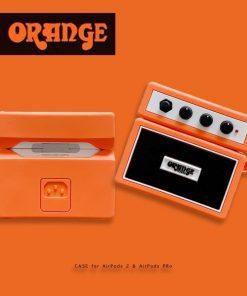 Orange Guitar Amp Premium AirPods Pro Case Shock Proof Cover