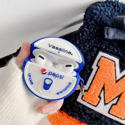 Vaseline Pepsi Premium AirPods Pro Case Shock Proof Cover