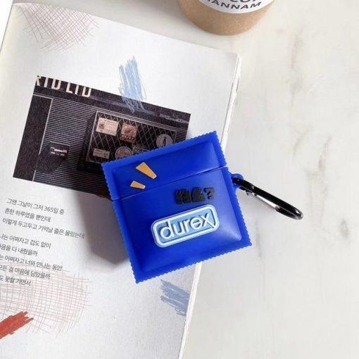 Durex Japanese Condom Premium AirPods Case Shock Proof Cover