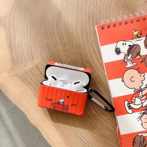 Charlie Brown 'Love You | Modular' AirPods Pro Case Shock Proof Cover