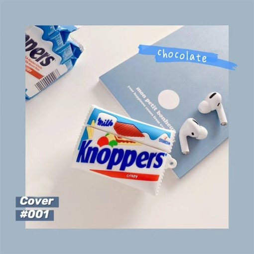 Knoppers Wafer Cookies Premium AirPods Pro Case Shock Proof Cover