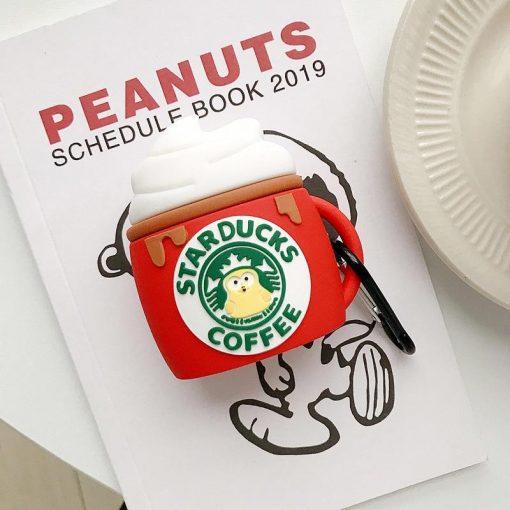 Starbucks 'Starducks | Latte' Premium AirPods Case Shock Proof Cover