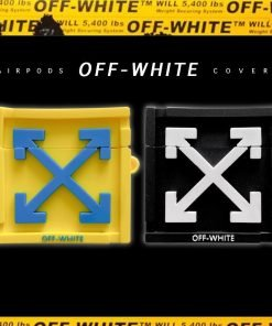 Off White 'Crate' Premium AirPods Pro Case Shock Proof Cover