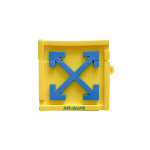 Off White 'Crate' Premium AirPods Case Shock Proof Cover