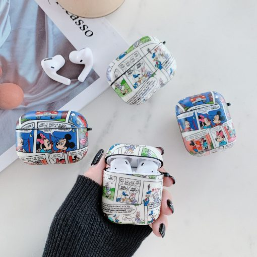 Disney Comics AirPods Case Shock Proof Cover