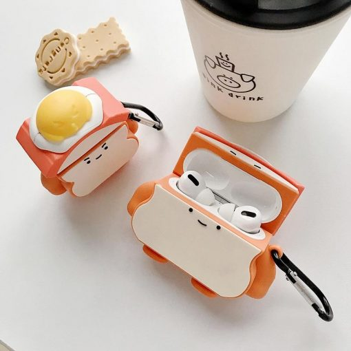 Egg Sandwhich Premium AirPods Pro Case Shock Proof Cover