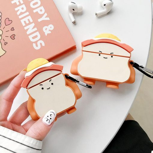 Egg Sandwhich Premium AirPods Case Shock Proof Cover