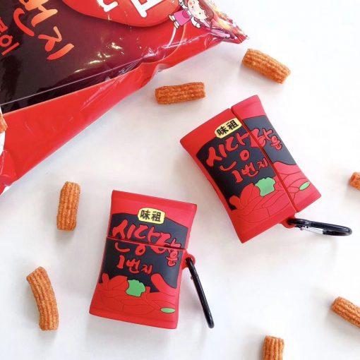 Japanese Potato Crisps Premium AirPods Case Shock Proof Cover