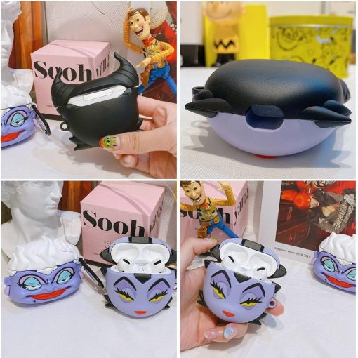 Sleeping Beauty 'Maleficent' Premium AirPods Pro Case Shock Proof Cover