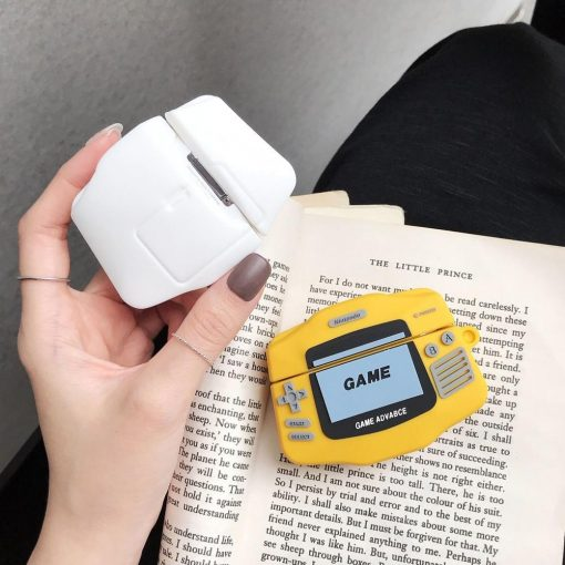 Gameboy Advanced Premium AirPods Pro Case Shock Proof Cover