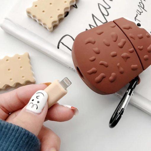 Chocolate Ice Cream Bar Premium AirPods Case Shock Proof Cover