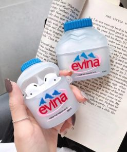Evian Mineral Water Premium AirPods Case Shock Proof Cover