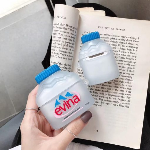 Evian Mineral Water Premium AirPods Pro Case Shock Proof Cover