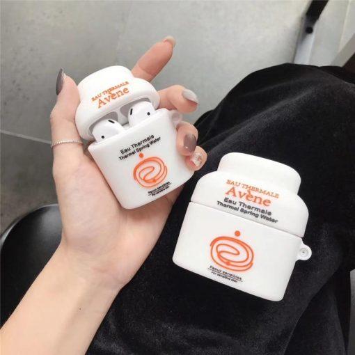Skincare Toner Premium AirPods Case Shock Proof Cover