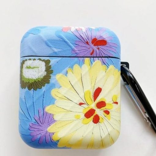 Flowers 'Modular   2.0' AirPods Case Shock Proof Cover