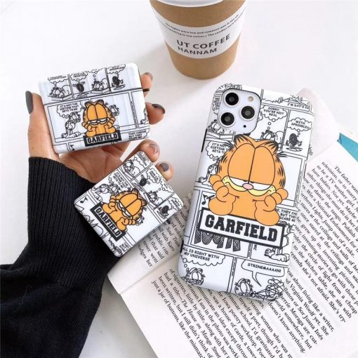 Garfield 'Modular' AirPods Case Shock Proof Cover
