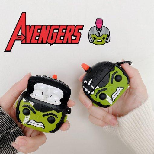 Hulk 'Thor   Ragnarok' Premium AirPods Case Shock Proof Cover