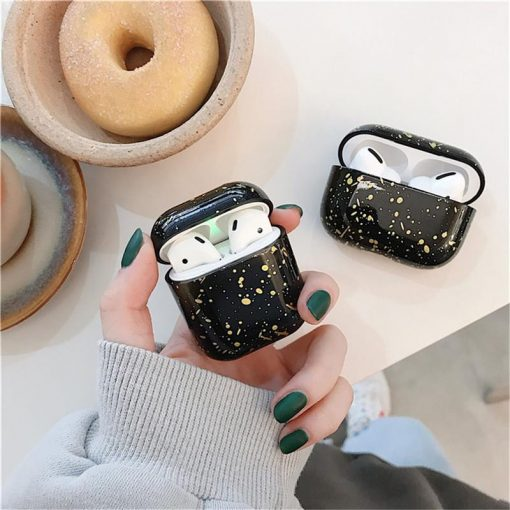 Paint Splatter Silicone AirPods Pro Case Shock Proof Cover