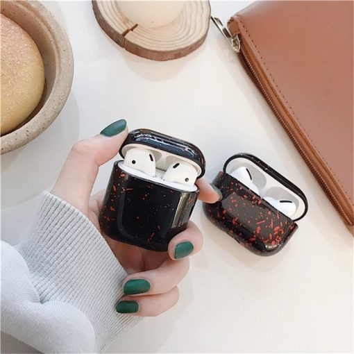 Paint Splatter Silicone AirPods Case Shock Proof Cover