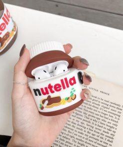 Nutella Premium AirPods Case Shock Proof Cover