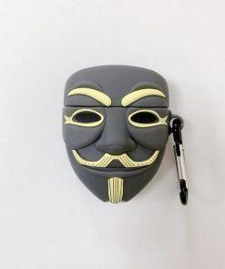 V for Vendetta Premium AirPods Case Shock Proof Cover