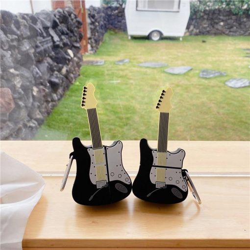 Electric Guitar Premium AirPods Case Shock Proof Cover