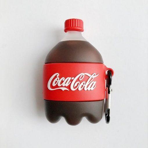 Coca Cola Bottle Premium AirPods Case Shock Proof Cover