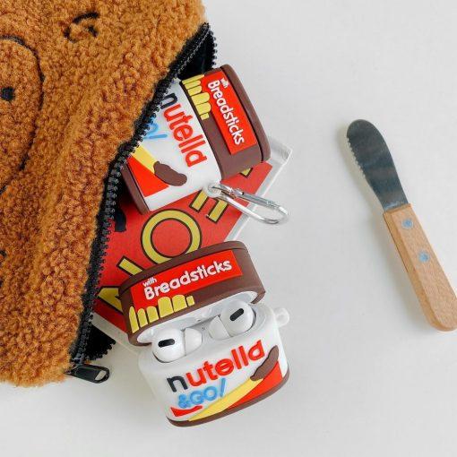 Nutella Go Breadsticks Premium AirPods Pro Case Shock Proof Cover