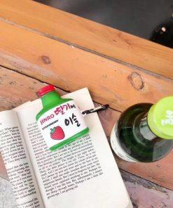 Korean Soju 'Strawberry' Premium AirPods Pro Case Shock Proof Cover