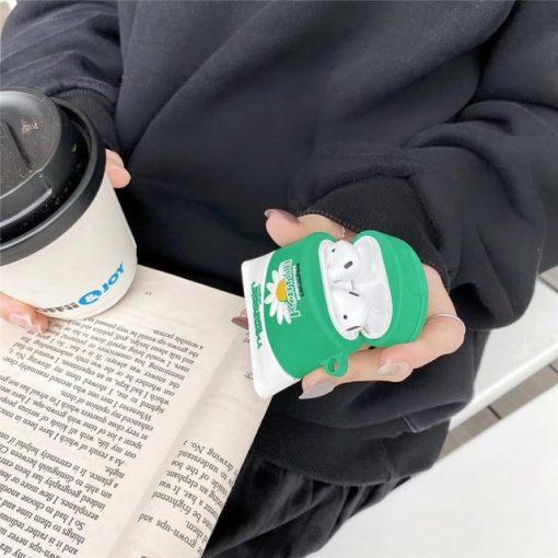 Luxury Skin Care Cream Premium AirPods Case Shock Proof Cover