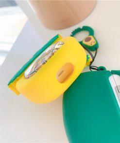 Avocado Snow Globe Premium AirPods Pro Case Shock Proof Cover