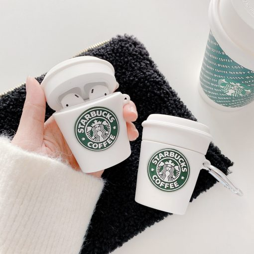 Starbucks Cup Premium AirPods Case Shock Proof Cover