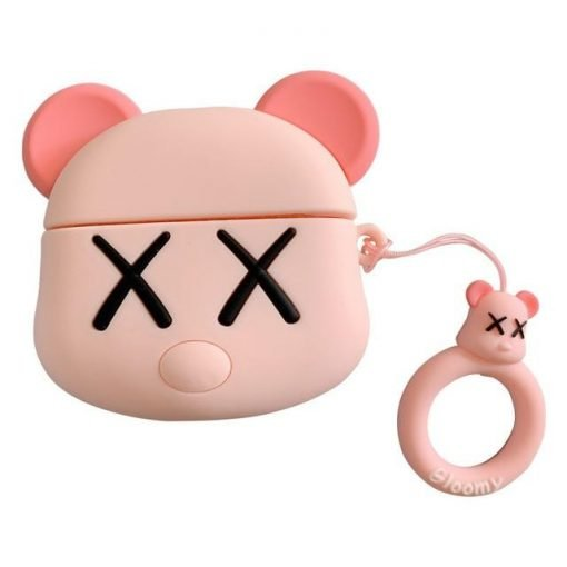 KAWS Bear 'Two Tone' Premium AirPods Case Shock Proof Cover