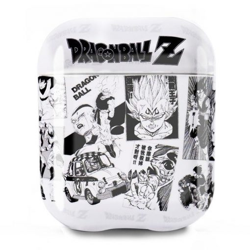 Dragon Ball Z 'Monochrome' AirPods Case Shock Proof Cover