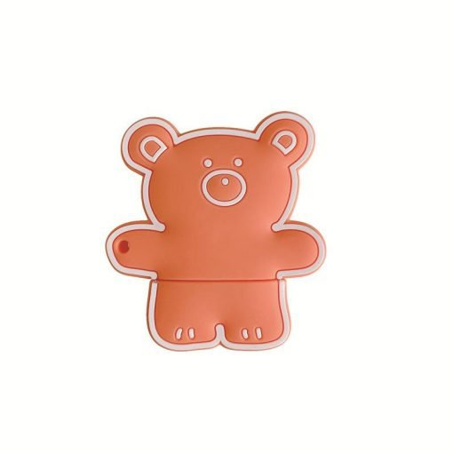 Teddy Bear 'Pencil' Premium AirPods Case Shock Proof Cover