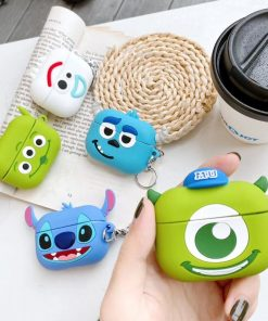Lilo and Stitch 'Smiling Stitch' AirPods Pro Case Shock Proof Cover