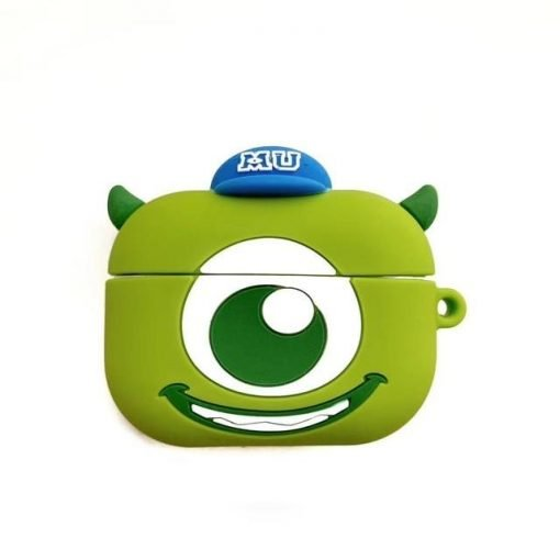 Monsters Inc 'Monsters U | Mike Wizowski' Premium AirPods Pro Case Shock Proof Cover