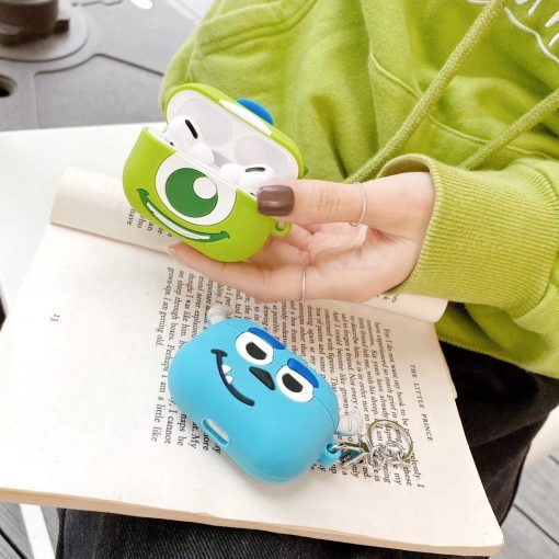 Monsters Inc 'Monsters U | Sully' Premium AirPods Pro Case Shock Proof Cover