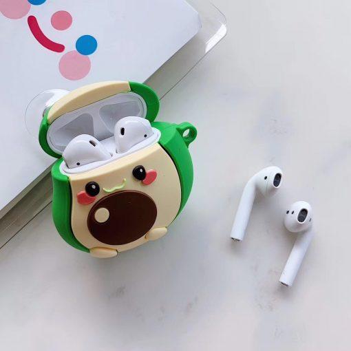 Cute Baby Avocado Premium AirPods Case Shock Proof Cover