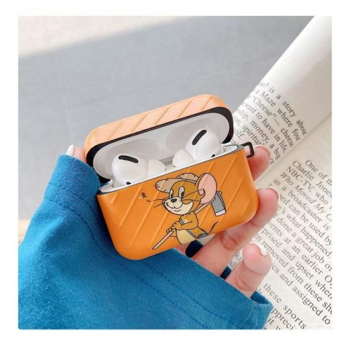 Tom and Jerry 'Orange   Modular' AirPods Pro Case Shock Proof Cover