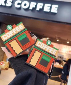 Coffee Shop 'Central Perk' Premium AirPods Pro Case Shock Proof Cover