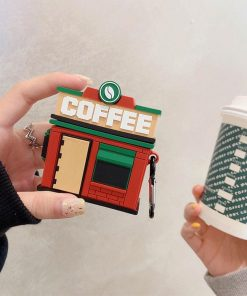 Coffee Shop 'Central Perk' Premium AirPods Case Shock Proof Cover