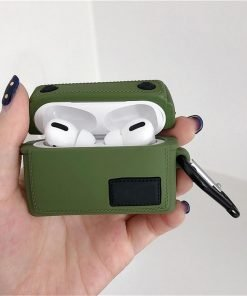 Fashion Military Backpack Premium AirPods Pro Case Shock Proof Cover