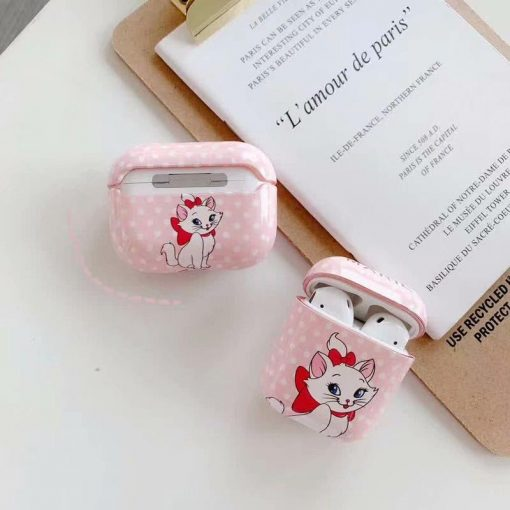 Disney 'Marie' AirPods Pro Case Shock Proof Cover