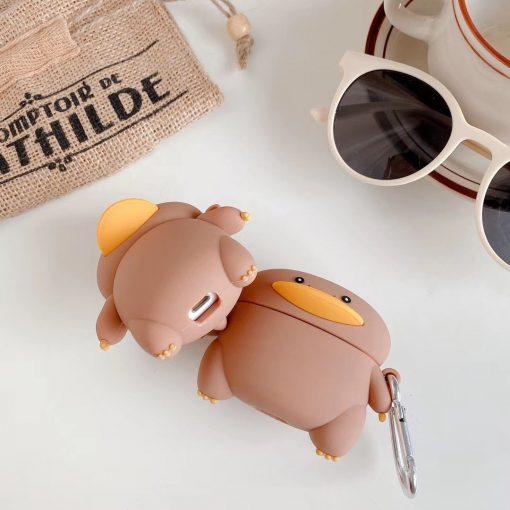 Cartoon Duck 'Walking' Premium AirPods Pro Case Shock Proof Cover
