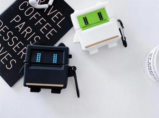 Cartoon Game Robot Premium AirPods Case Shock Proof Cover
