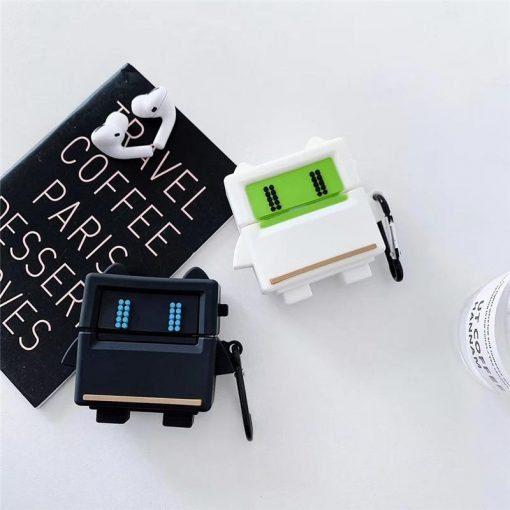 Cartoon Game Robot Premium AirPods Pro Case Shock Proof Cover
