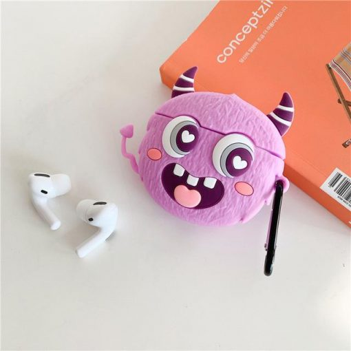 Cute Big Eyes Monster Premium AirPods Pro Case Shock Proof Cover