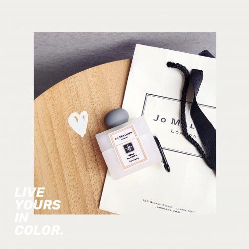 Perfume Bottle 'Jo Malone' Premium AirPods Case Shock Proof Cover